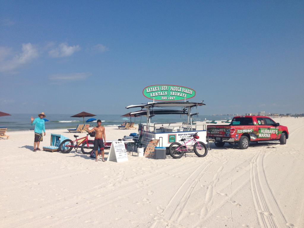 Cabana rentals deep sea fishing charters gulf beaches fl for Fishing treasure island florida