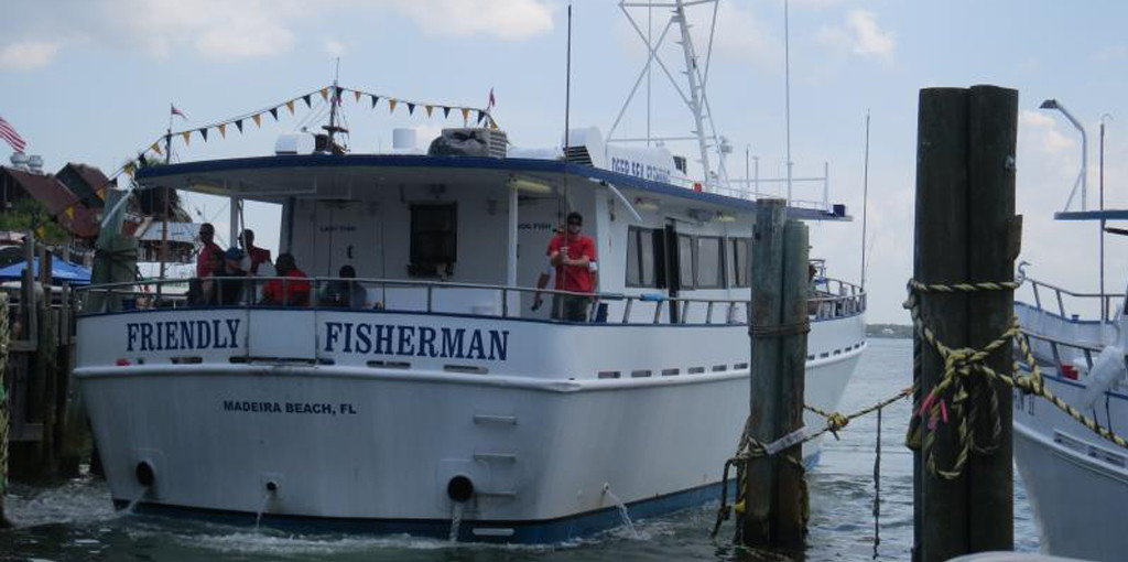 10 hour all day fishing trip for Tampa deep sea fishing