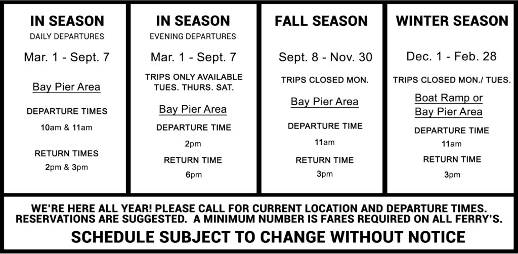egmont-ferry-schedule