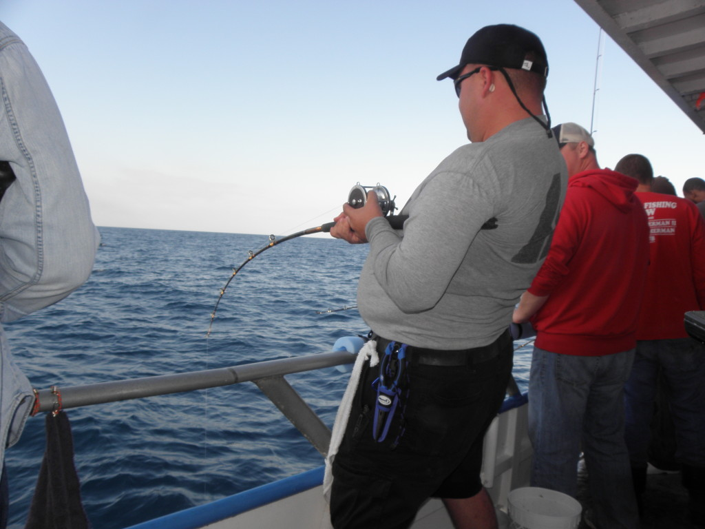 39 hour overnight fishing trip for Deep sea fishing tampa