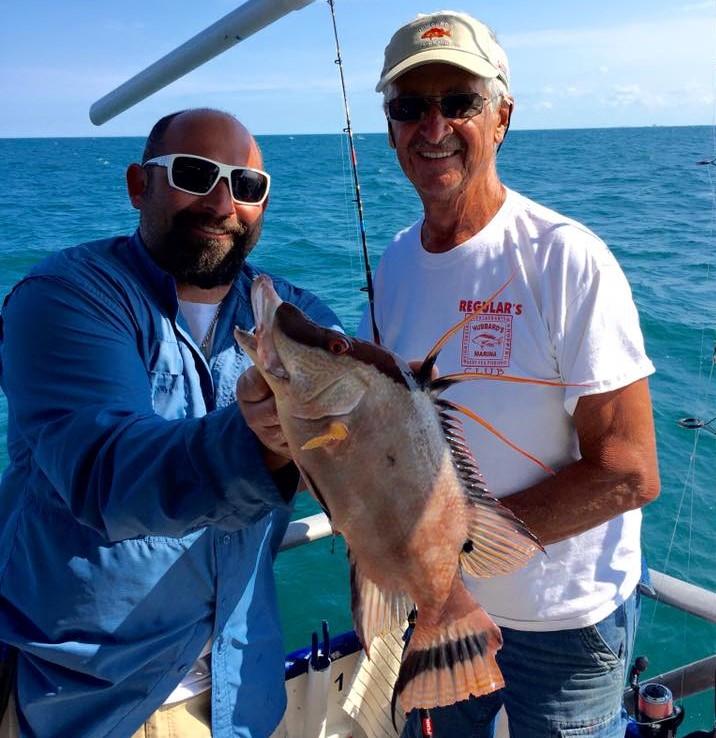 Hubbard 39 s marina fishing report 5 6 16 deep sea fishing for Deep sea fishing johns pass
