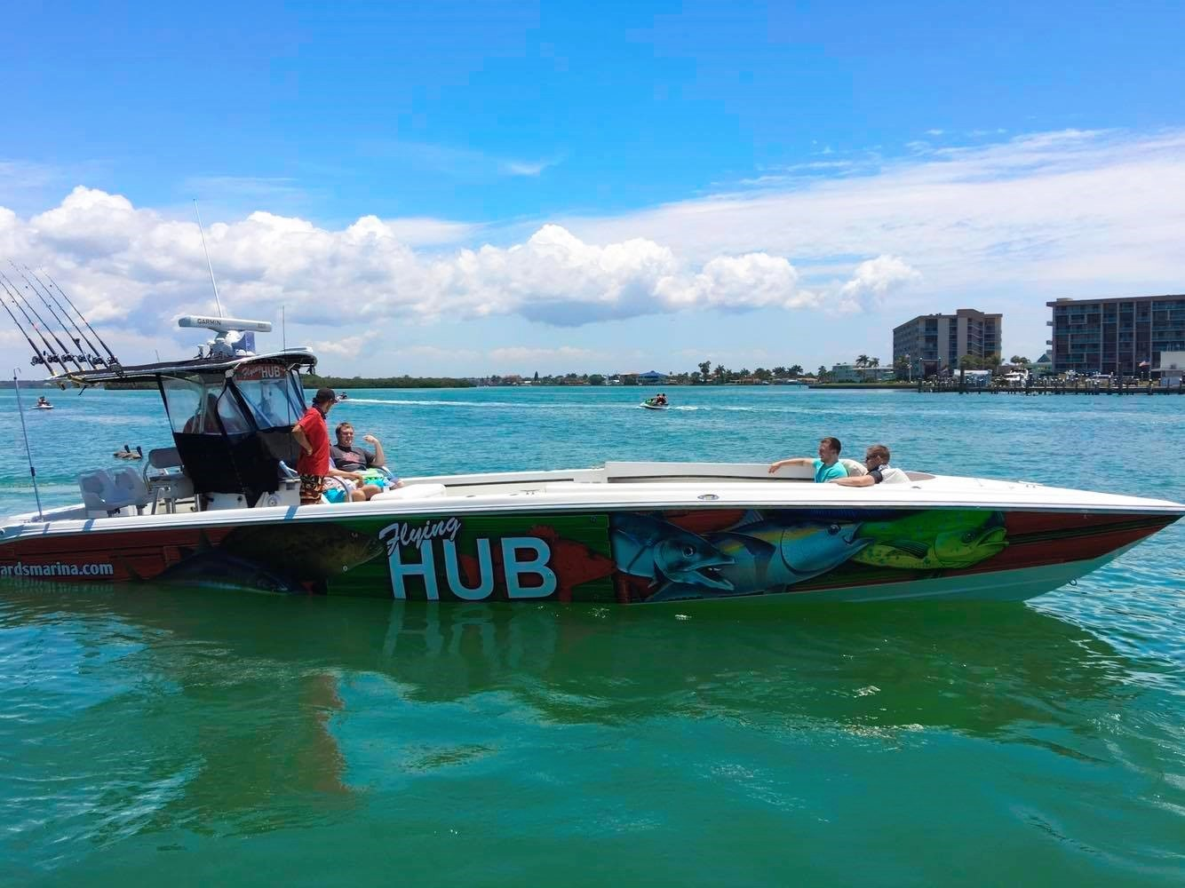 Private fishing charters hubbard 39 s marina john 39 s pass fl for Johns pass fishing